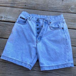 CALVIN KLEIN Vintage hi rise Mom jean Shorts 29